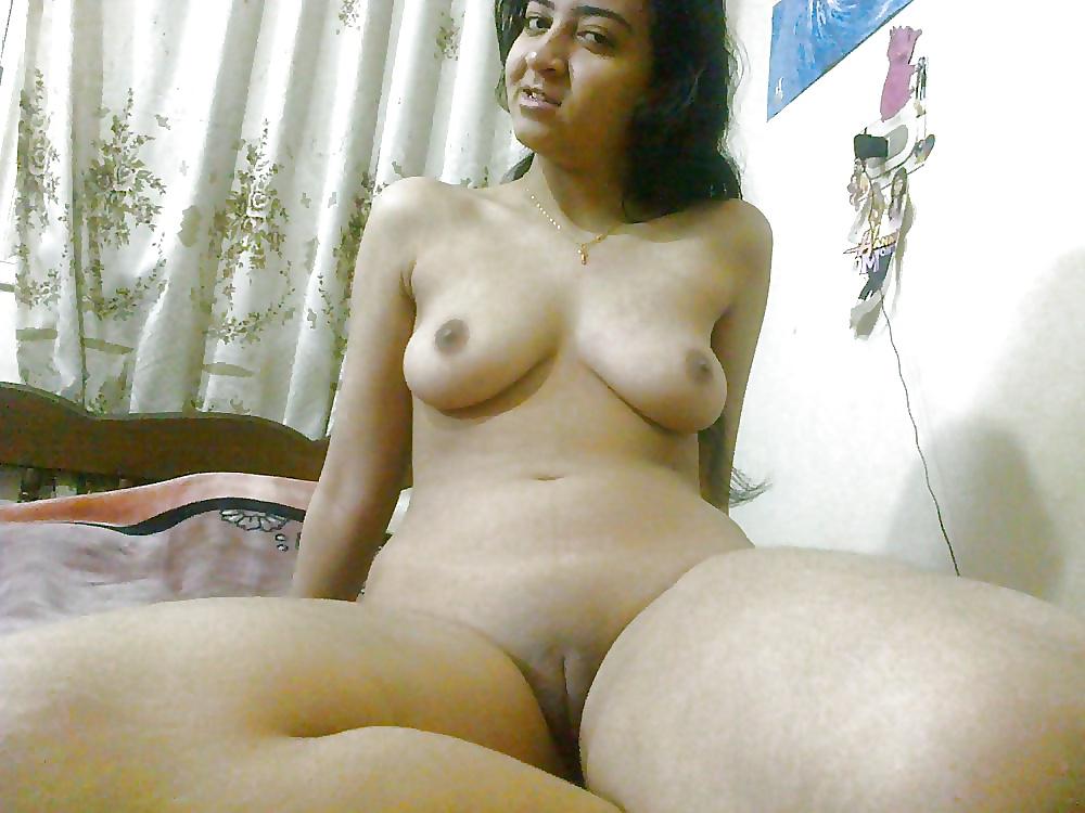 Undeniably beautiful nude arab lady in my room