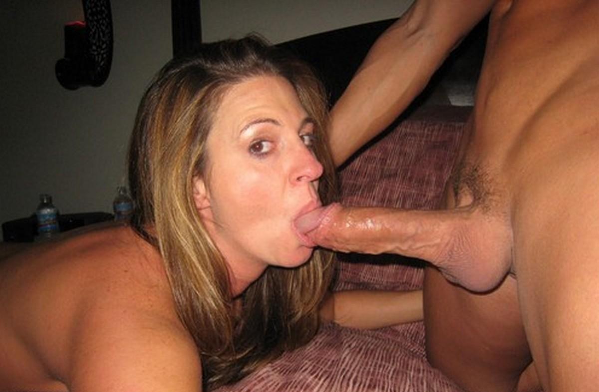 Pov blowjob by wife