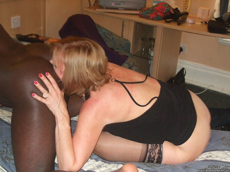 Ass licking wife