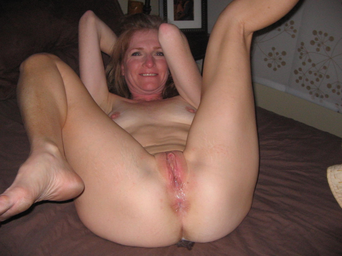 More hot wives spreading open their pussies for us