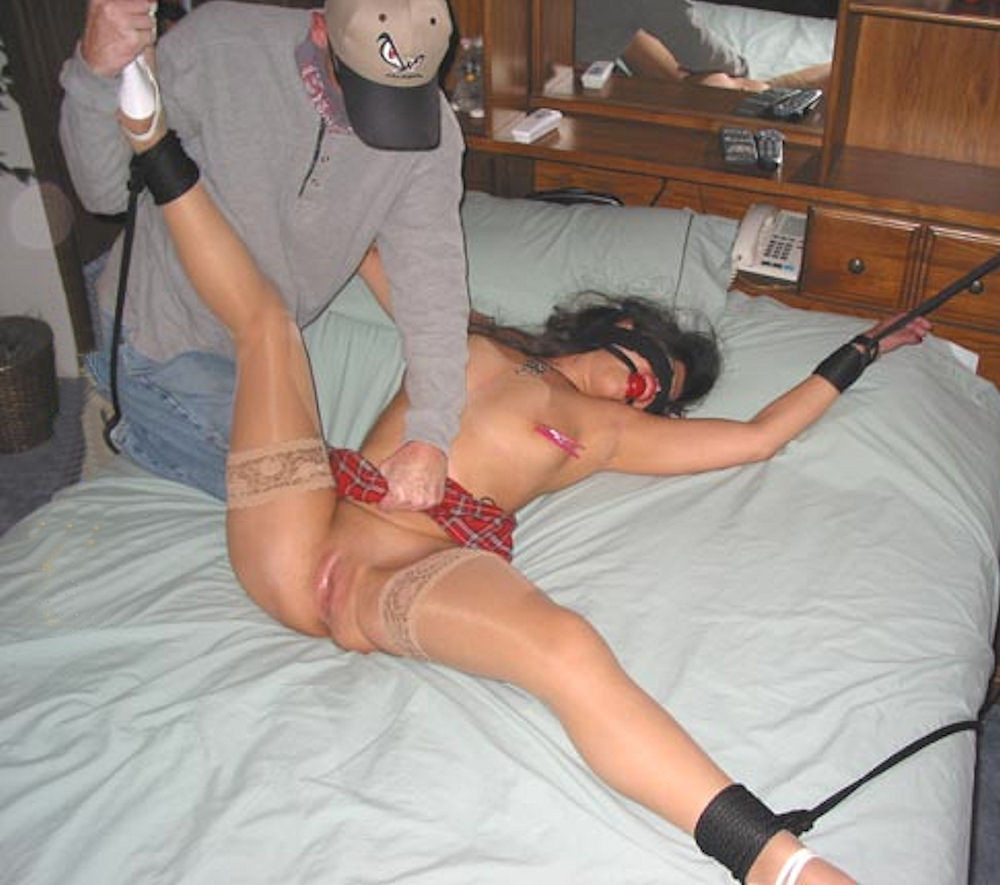 Teen babe with tiny tits zoey gets into hardcore bondage fucking