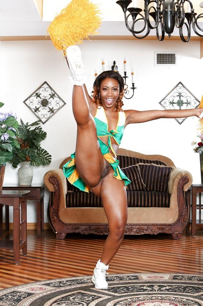 Teen Black Cheerleaders Naked Black Gfs