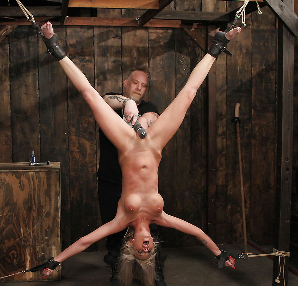 Blonde Crystels Tit Torture