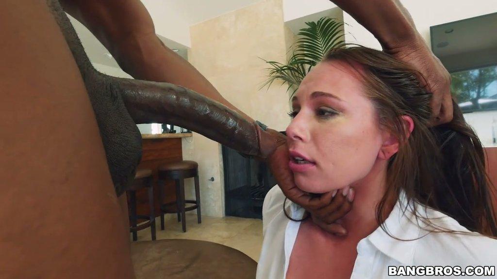 Black dick making her scream