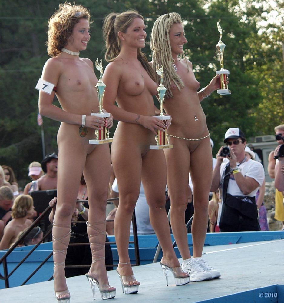 Pageant winners nude