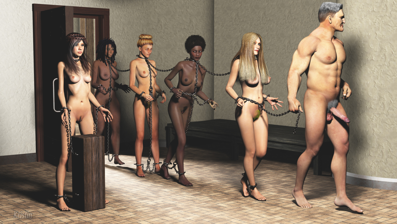 Mature sex slave spanking