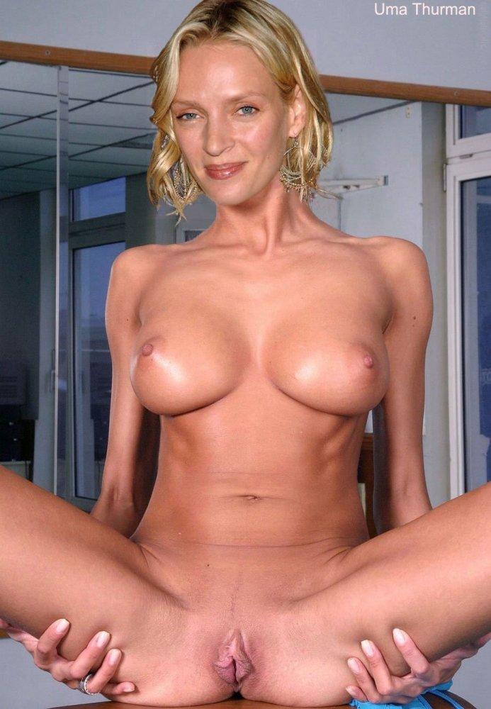 Uma Thurman Fake Nude