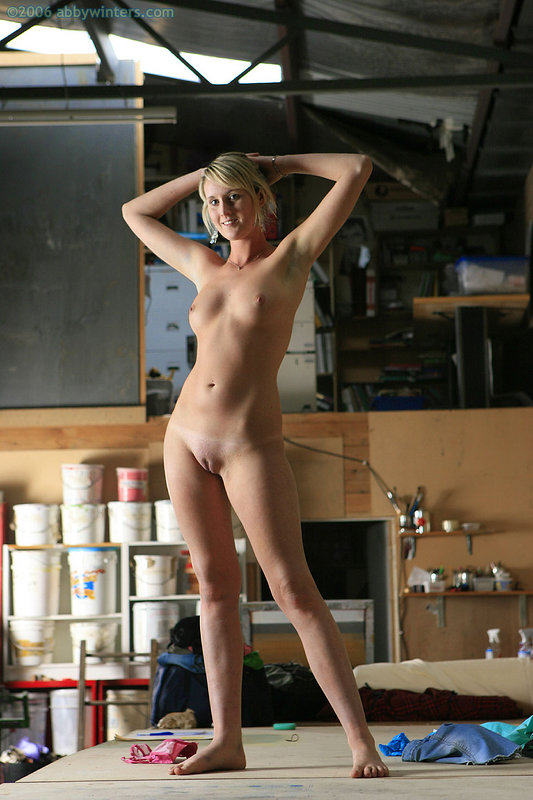 Girl naked at work - Other